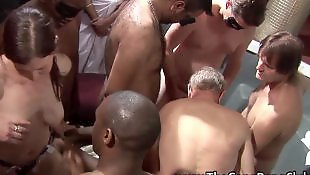 Compilation, Orgy, Group, British, Group sex