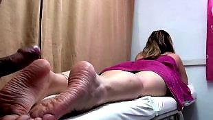 Massage, Swinger, Swingers, Milf massage, Footjobs
