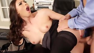 Office, Doggystyle, Doggystyle anal, Ass masturbation