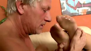 Mature blowjob, Mature, Mature foot