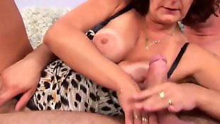 Mature, Mature hairy, Hairy, Big tits, Granny, Old and young