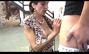 British, British milf, Milf blowjob