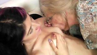Vieille lesbienne enculée, Vieille jeune lesbienne, Copines lesbiennes