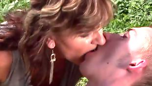 Mature, Old and young, Mature blowjob, Granny, Mature outdoor, Granny blowjob