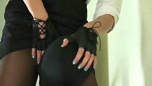 Lesbian strapon, Submissive, Lesbian dildo, Doll, Strapon lesbian, Mask