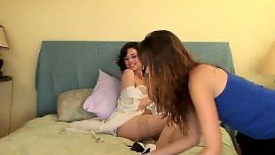 Lesbian lingerie, Bodystocking, Crotchless, Naughty allie, Allie haze, Avluv