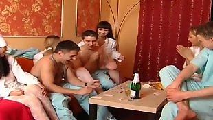 Lesbian orgy, Teen orgy