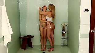 Lesbian hot, Shower, Lesbian tits, Bathroom, Julia ann, Julia ann lesbian