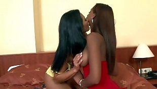 Lesbian interracial, Milf lesbian, Interracial lesbian, Spreading, Sandra romain, Angel dark