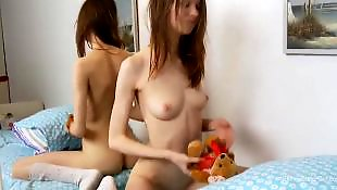 Pale, Slim, Pale anal, Home alone