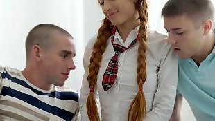 Teen threesome, Russian teen, Threesome teen, Russian, Russian teens, Russian teen threesome