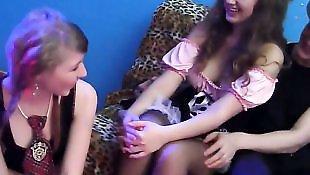 Lesbians stockings, Lesbian orgy, Lesbian heels