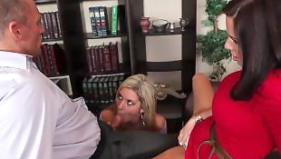 Secretary, Wife threesome, Caught