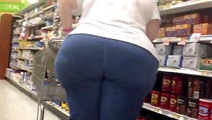 Chubby ass, Voyeur, Bbw granny, Mature, Gilf, Mature amateur