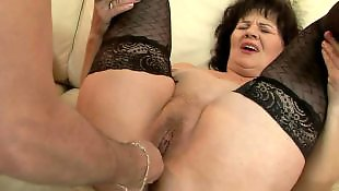 Mature, Granny, Stockings fuck, Older, Milf stockings, Granny stockings