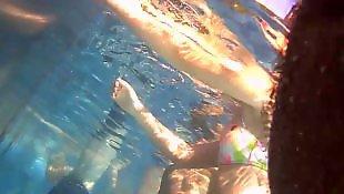 Underwater, Voyeur, Upskirt, Hidden