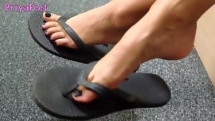 Foot, Foot fetish, Voyeur, Fetish, British, Indian