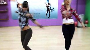 Dance, Russian teen, Russian, Dancing, Russian teens, Voyeur
