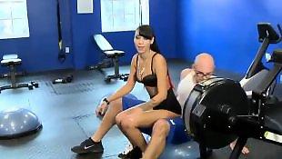 Gym, Seducing, Doggystyle, Two girls