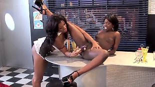 Ebony pussy, Ebony lesbians, Ebony lesbian, Ebony fingering, Lesbian heels, Lesbian wet