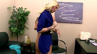 Lesbian domination, Rough lesbian, Office lesbian, Office, Monique alexander, Lesbian office