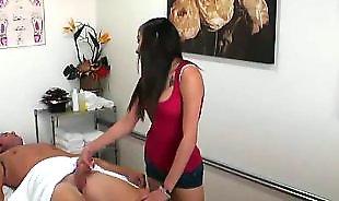 Teen massage, Asian handjob, Asian massage, Teen handjob
