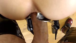 Anal, Mistress, Mistress t, Gaping, German anal, German milf