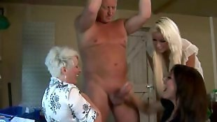 Group handjob, Group, British, Hard, Cfnm handjob, Neighbour