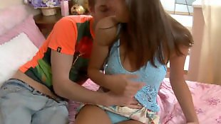 Cum on pussy, Young couple
