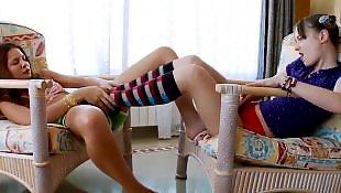 Lesbian lingerie, Teen strip, Lingerie strip