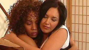 Ebony lesbians, Busty lesbians, Ebony teen, Busty ebony