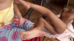 Teen lesbian, Pussy close up, Socks, Lesbian foot, Lesbian socks, Leggings