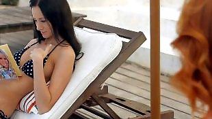 Lesbian bikini, Lesbian pool, Wow, Wow girls