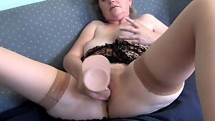 Granny, Cleaning, Milf stockings, Mature amateur, Mature, Granny stockings