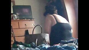Voyeur, Spy, Chubby, Ass, Bbw, Tits