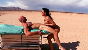 Beach, Rachel starr, Johnny sins, Beach masturbation
