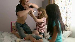 Threesome teen, Lesbian teens, Teen threesome, Teen lesbian, Russian teen, Threesome lesbian