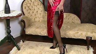 Stockings masturbating, Asian stockings, British, Asian masturbation, Asian, Stocking masturbation