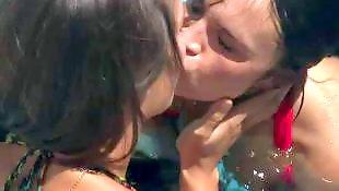 Lesbian bikini, Lesbian pool, Malena morgan, Reality king, Lesb, Lesbian asslicking