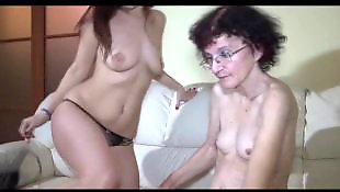 Mature amateur, Young girls, Mature