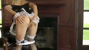 Ass solo, Solo stocking, Stockings solo, Maid, Pornstar solo, Solo lingerie