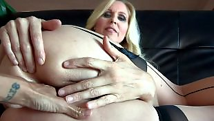 Stocking dildo, Milf stockings, Nylons, Milf dildo, Stockings fuck, Julia ann
