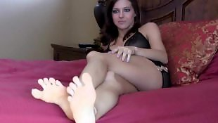 Feet, Foot fetish, Foot, Hard, Stockings pov, Stockings