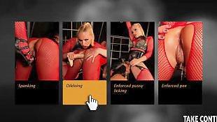 Mistress, Lesbian mistress, Lesbian bdsm, Spanking, Lesbian spanking