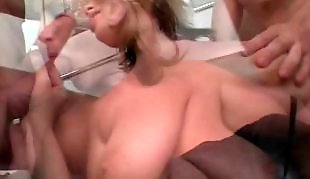 Anus, Big tits, Big dick, Big tits threesome, Anal young