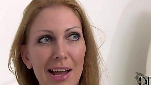 Strip, Busty masturbation, Leigh darby, Sexy dress, Busty strip