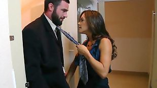 Francesca le, Hair pulling, Lace, Surprise