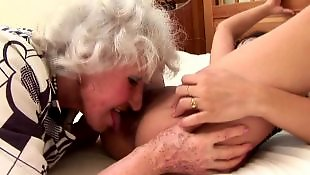 Mature lesbian, Mature, Young lesbians, Old young lesbian, Granny, Lesbian licking