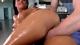 Oil, Pussy massage, Massage, Christy mack, Oil massage, Ass massage