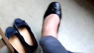 Nylons, German, Ballerina, Nylon foot, German nylon